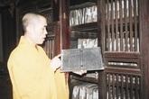 """Mộc bản """"độc nhất vô nhị"""" ở nơi sáng linh Phật Việt"""
