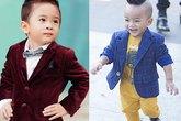 Phong cách đẳng cấp của 2 nhóc tì khi làm con nuôi sao Việt
