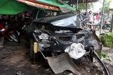 Thanh niên trộm ôtô của chủ tiệm vàng rồi gây tai nạn