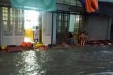 Bão số 3: Nhiều tuyến đường ở Hải Phòng ngập lụt sau nửa giờ mưa