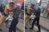 """Hà Nội: Đối tượng xăm trổ, nghi nhiễm HIV hành hung CSGT là """"dân anh chị"""""""