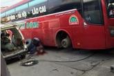 Nổ lốp ô tô, một công nhân bị thương nặng