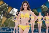 Người đẹp HHVN diện bikini khoe đường cong trước chung kết