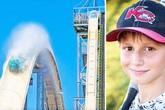 Bé trai thiệt mạng khi chơi máng trượt cao nhất thế giới