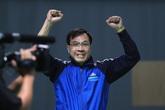 Hoàng Xuân Vinh giành HCB nội dung 50 m súng ngắn bắn chậm