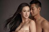 Tài tử Triệu Văn Trác gây sốc khi khỏa thân cùng vợ bầu