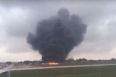 Máy bay rơi ở Malta, 5 người chết