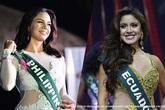 Một hoa hậu trả vương miện vì nói xấu Hoa hậu Trái đất