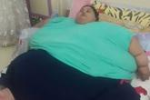 Cô gái béo nhất thế giới lần đầu rời khỏi nhà sau 25 năm