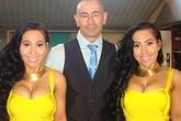 Cặp chị em sinh đôi giống nhau nhất thế giới sắp lấy chung 1 người đàn ông