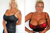 Người phụ nữ 50 tuổi vẫn theo đuổi đam mê ngực khủng