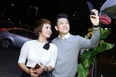 Thúy Hiền đi sự kiện cùng Ngọc Khanh V-music
