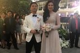 """Những hình ảnh đầu tiên trong đám cưới hoành tráng của """"cô gái thời tiết"""" Mai Ngọc"""