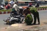 Hé lộ nguyên nhân hai nữ sinh bị tạt axit giữa phố