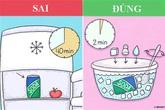 Mẹo vặt giúp tiết kiệm thời gian trong nhà bếp