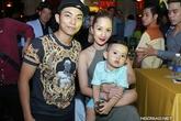 Vợ chồng Khánh Thi, Bình Minh tình tứ đi tiệc