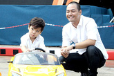 MC Phan Anh khoe ảnh chơi đùa cùng hai con đẹp như thiên thần