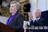 Ở tuổi xế chiều, Hillary vẫn là 'cô gái' nhỏ của Bill Clinton