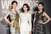 Hoa hậu Mỹ Linh đọ sắc chị em Thanh Tú - Trà My
