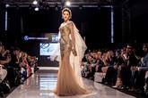 Á hậu Huyền My trình diễn ở Tuần lễ Thời trang Malaysia