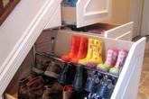 Nhà luôn gọn gàng nhờ cách cất giày thông minh và sáng tạo như thế này