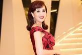 Hoa hậu Diệu Hoa diện đầm trễ vai chấm thi nhan sắc