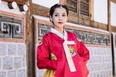 Chi Pu diện hanbok quá xinh đẹp so với các cô gái Hàn Quốc
