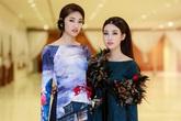 Mỹ Linh, Thanh Tú diện áo dài 'độc' đi xem thời trang