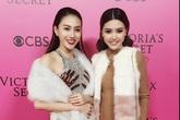 Ngọc Duyên, Lê Hà vào hậu trường show Victoria's Secret