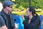 Hai lần Brad và Angelina lộ ảnh cãi vã trong 2 năm kết hôn