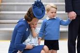 Hoàng tử George và em gái đáng yêu bên bố mẹ ở Canada