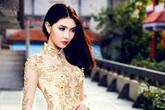 Tân Nữ hoàng Sắc đẹp duyên dáng với áo dài