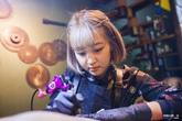 Trắng đêm cùng nữ thợ xăm có thu nhập hơn 100 triệu/tháng