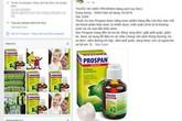 Cẩn trọng dùng thuốc xách tay trị ho cho trẻ