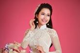 Hoa hậu Phụ nữ Việt Nam qua ảnh 2012 diện áo dài voan