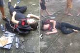 Tên trộm ôm laptop của sinh viên nhảy từ lầu 4 KTX xuống đất