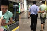 Cái kết đắng lòng cho kẻ biến thái sờ soạng ngực người phụ nữ tại ga tàu điện ngầm
