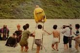 Những hình ảnh về thời quay phim thiếu thốn của Tây Du Ký 1986