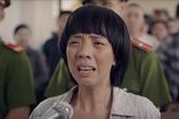 """Thu Trang """"cắn nhầm lưỡi"""" khi vào vai bà mẹ thiểu năng"""