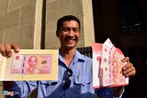 Đăng ký trước vẫn không mua được tiền 100 đồng ở Sài Gòn