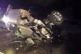 4 người trên ô tô con tử vong sau cú đâm xe kinh hoàng