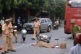 Ngã xuống đường, một phụ nữ bị xe khách cán qua người