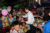 Nghệ An: Trẻ vùng cao vui tết Trung thu sớm