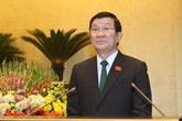 Ông Trương Tấn Sang được miễn nhiệm chức danh Chủ tịch nước