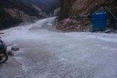 Tuyết xuất hiện ở Nghệ An