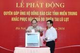 Thủ tướng kêu gọi ủng hộ đồng bào miền Trung và yêu cầu làm rõ trách nhiệm vụ xả lũ
