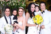"""""""Mốt"""" cho con xuất hiện bất ngờ trong đám cưới của sao Việt"""