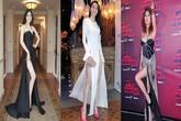 Không phải ai cũng dám mặc váy xẻ quá đùi giống những mỹ nhân này