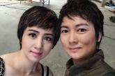 Chị em Thúy Vinh, Thúy Hiền bầm dập vì mải đánh đấm khi đóng phim chung