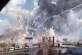 Hiện trường bi thảm vụ nổ chợ pháo hoa ở Mexico khiến 29 người chết